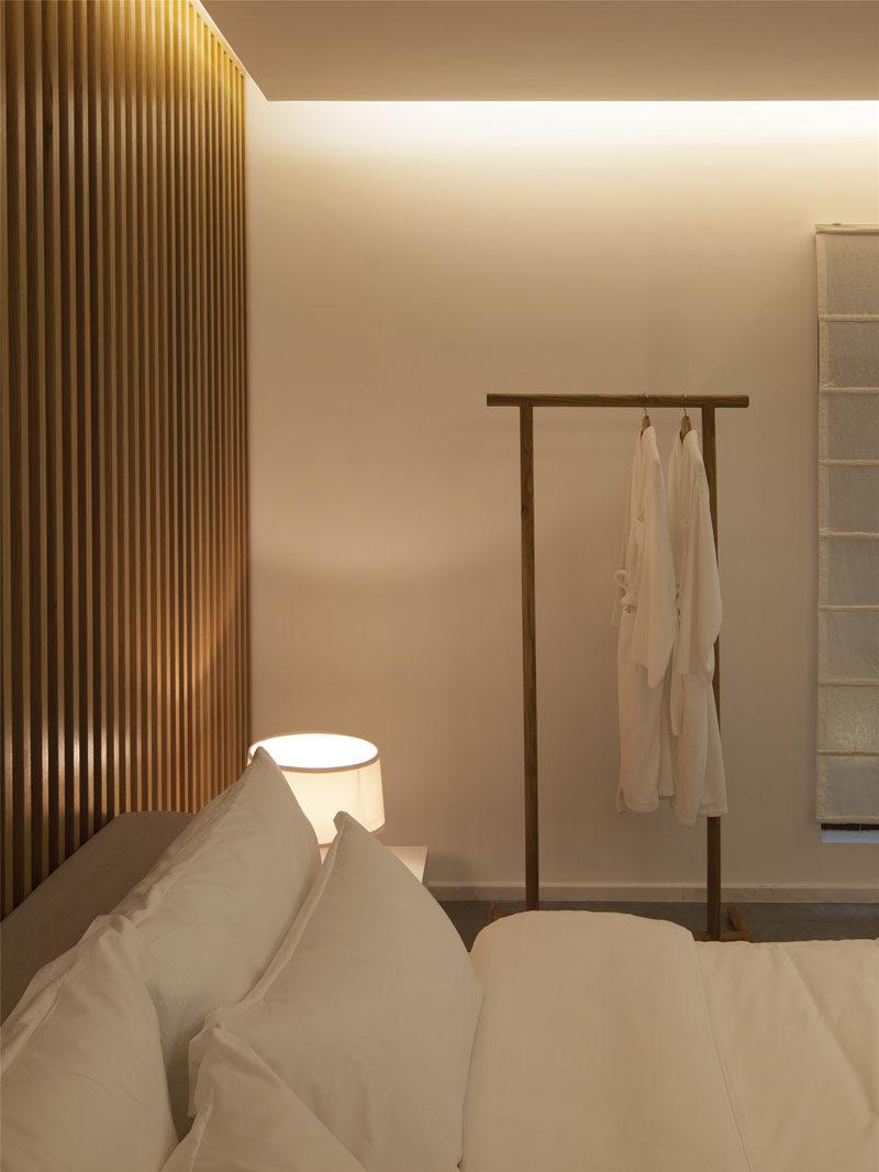 bedroom wall design idea