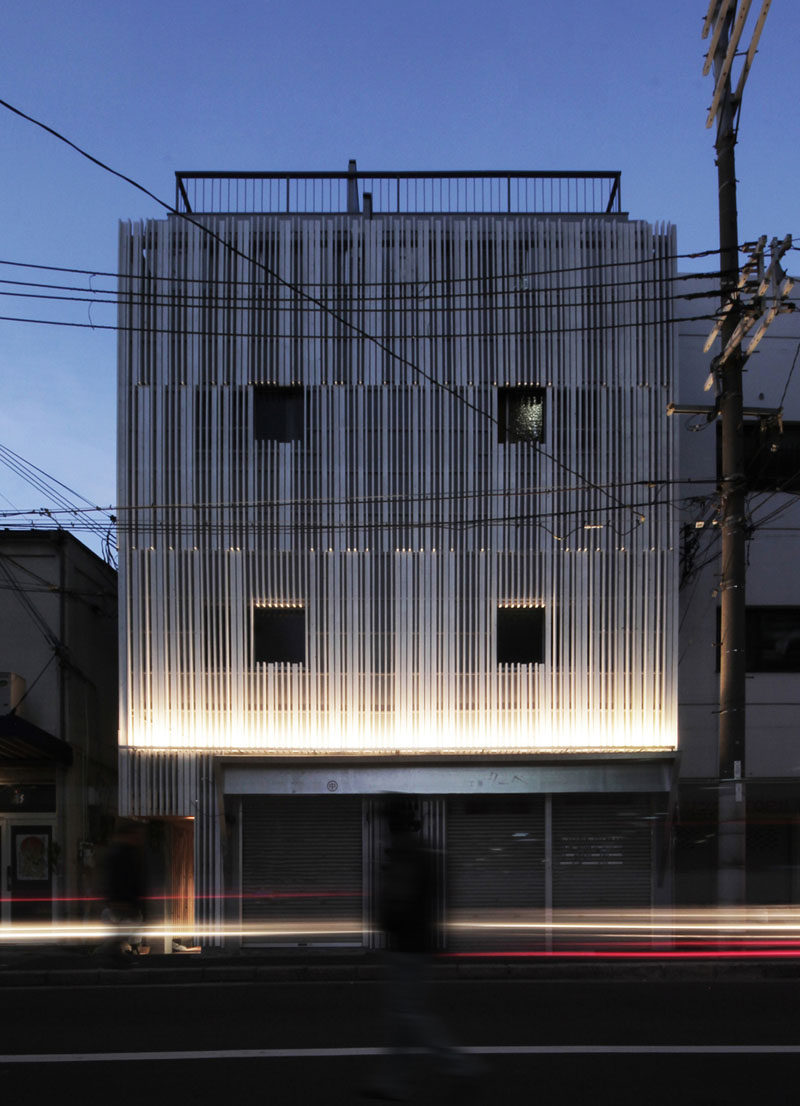 N strips Residence by Jun Murata