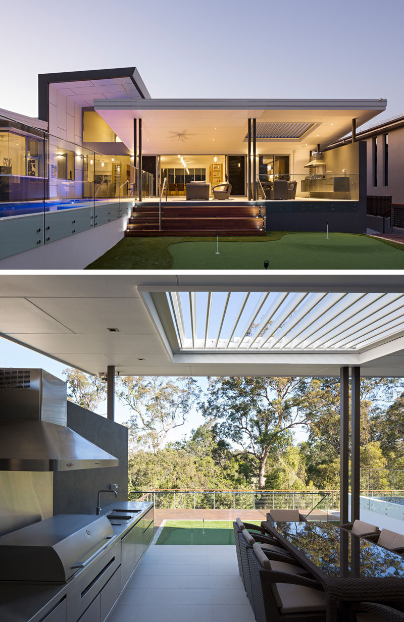23 awesome australian homes to inspire your dreams of for Amenagement cuisine d ete