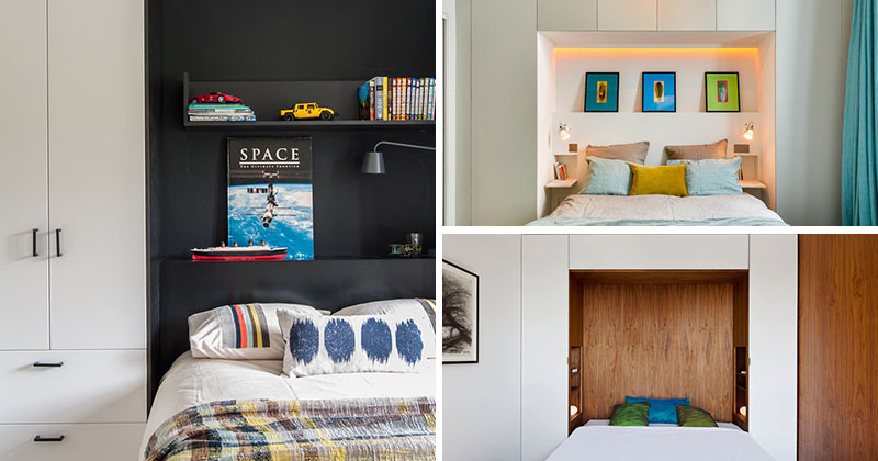 Bedroom Design Ideas - 8 Ways To Create The Ultimate Bed Surround With Storage