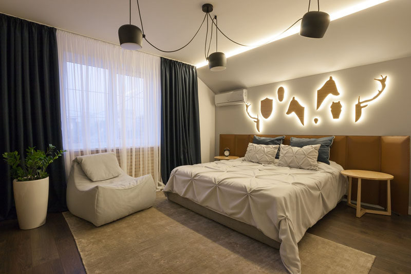 Charmant Bedroom Design Ideas   8 Ways To Decorate The Wall Above Your Bed //  Lighting
