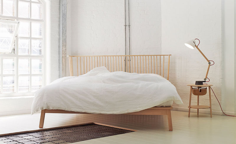 12 Bedside Table Lamps To Dress Up Your Bedroom // Lamp by Ilse Crawford. Manufactured by Wästberg.