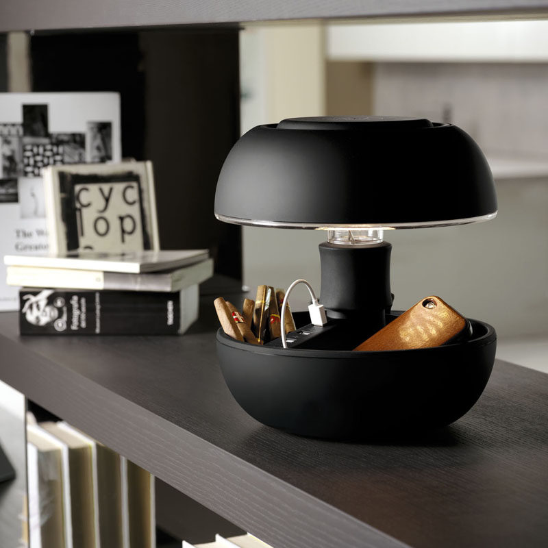 12 Bedside Table Lamps To Dress Up Your Bedroom // Joyo Soft Table lamp by Joyo for Vivida.