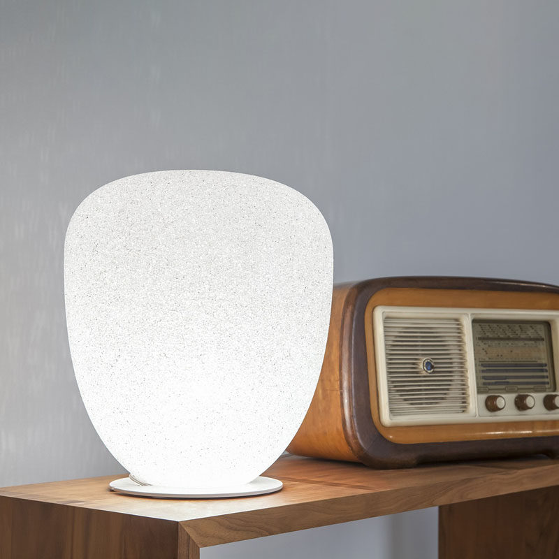 12 Bedside Table Lamps To Dress Up Your Bedroom // Sumo m02 lamp by Lumen Center Italia.