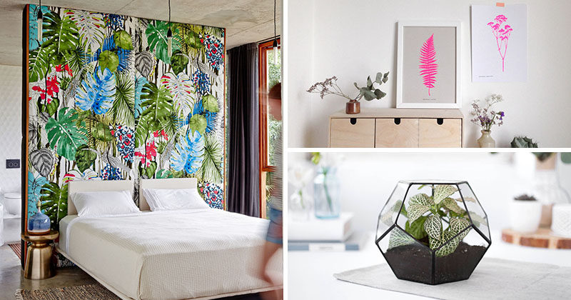 17 Ways To Introduce Botanical Design Into Your Home Decor
