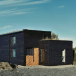 This humble little house was designed for a chef to live on the coast of Norway