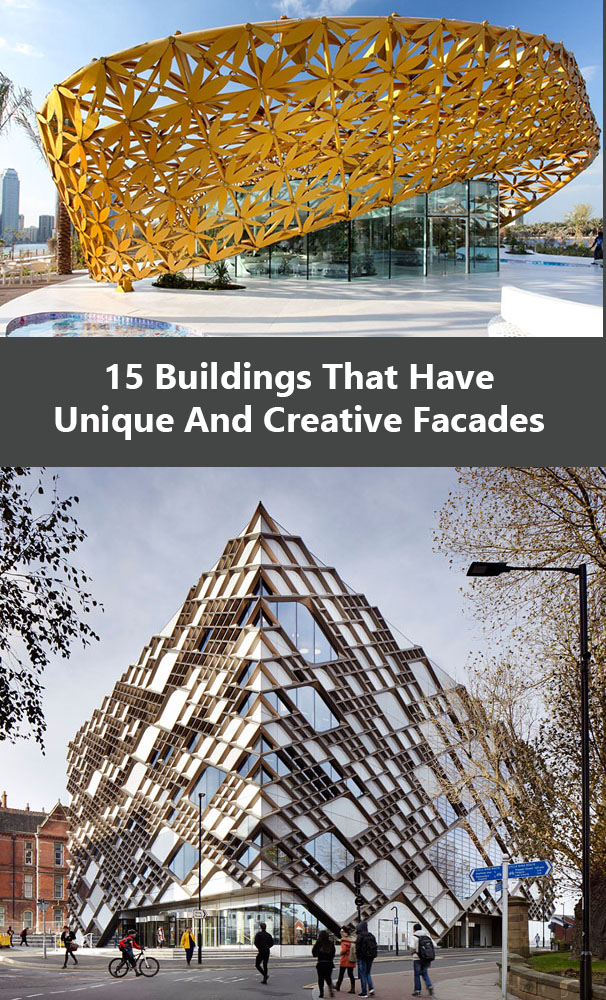 Exterior Design Ideas - 15 Buildings That Have Unique And Creative Facades