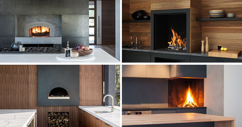 Kitchen Design Ideas   Include A Built In Wood Fire Oven Or Pizza Oven Into Part 49