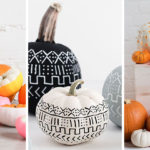 13 Modern DIY Halloween Pumpkin Ideas