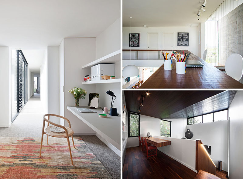 Interior Design Idea - 13 Examples Of Desks In Hallways