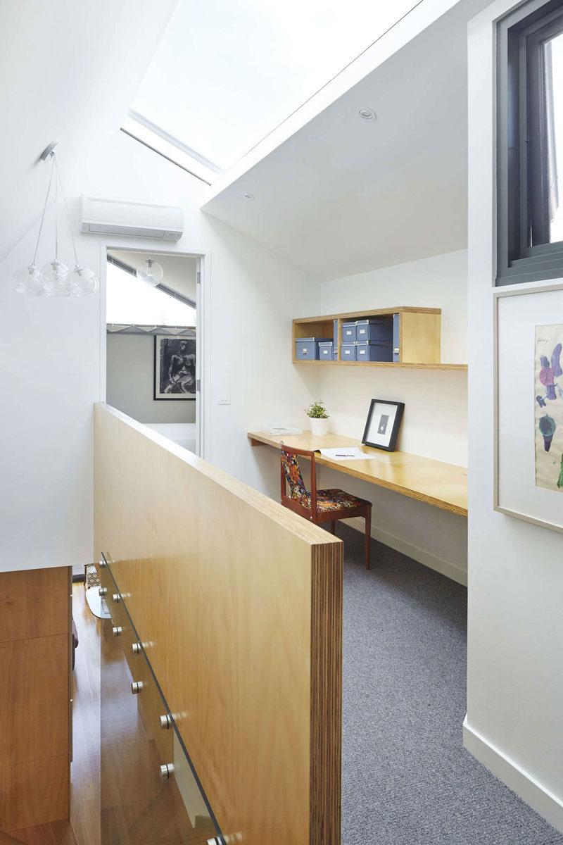 Amazing Interior Design Idea 13 Examples Of Desks In Hallways Contemporist Largest Home Design Picture Inspirations Pitcheantrous
