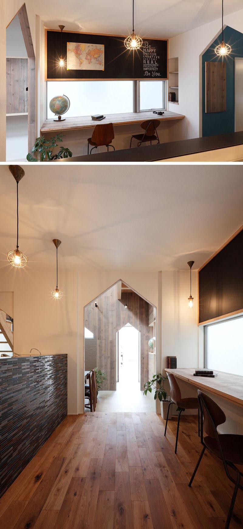 Cool Interior Design Idea 13 Examples Of Desks In Hallways Contemporist Largest Home Design Picture Inspirations Pitcheantrous