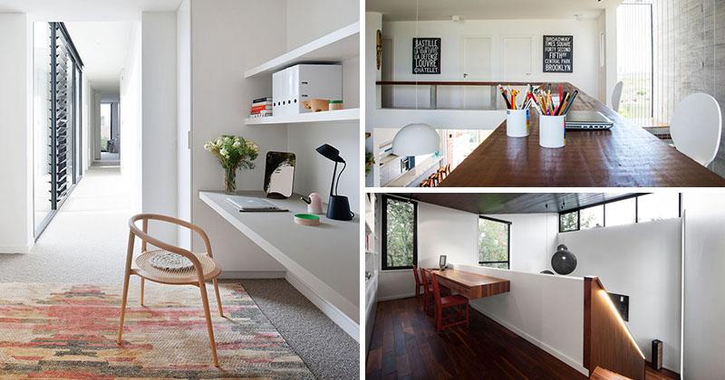 Interior Design Idea - 13 Examples Of Desks In Hallways