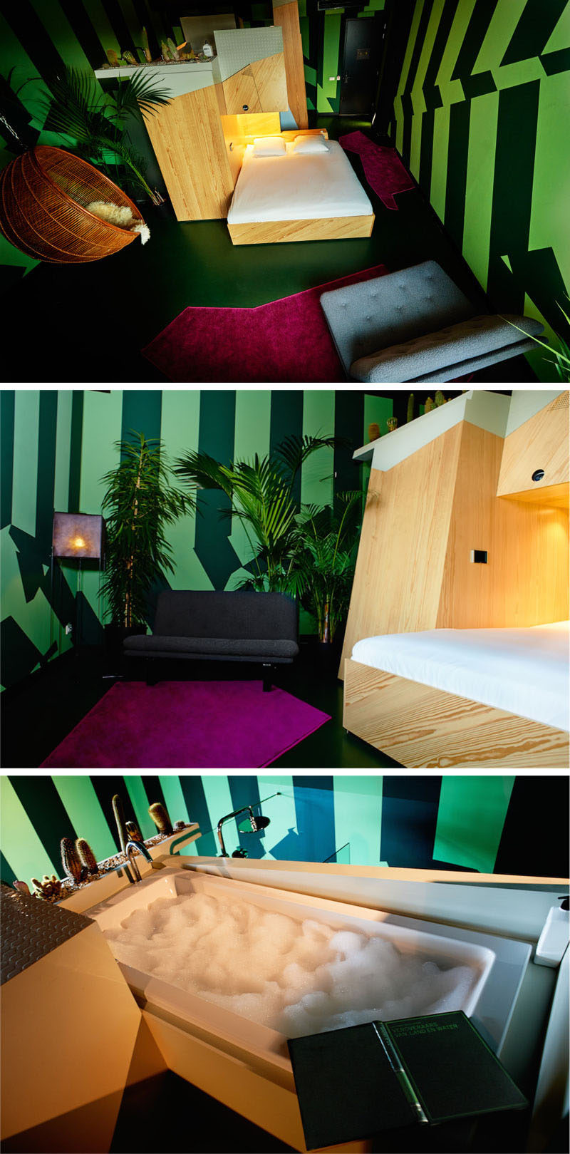 9 Designers Created 9 Rooms At This Hotel In Amsterdam