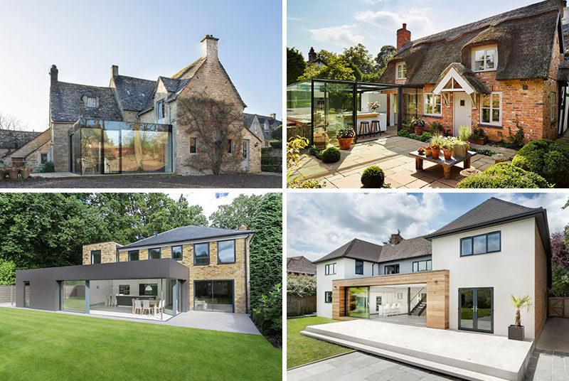 14 Examples Of British Houses With Contemporary Extensions ...