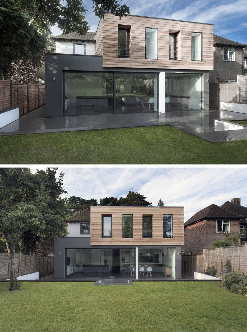 14 examples of british houses with contemporary extensions for British house designs