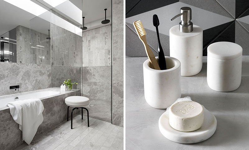 Bathroom Design Idea - 5 Ways To Add Marble To Your Bathroom ...