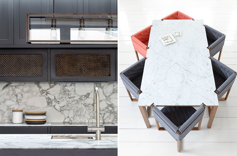 Kitchen Design Idea - How To Add Marble In Your Kitchen