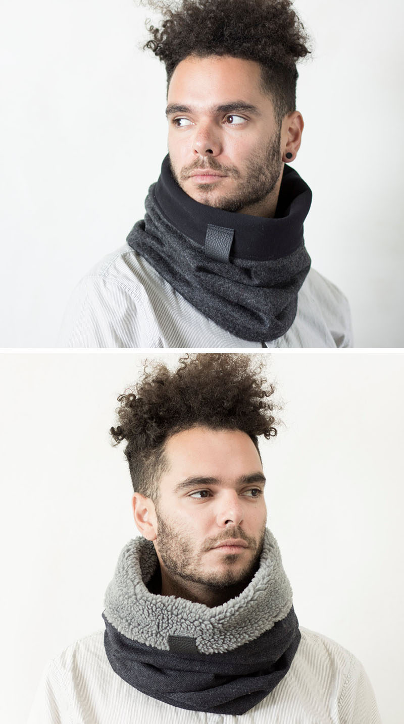 The Ultimate Gift Guide For The Modern Man (40+ Ideas!) // A Scarf-Hood Combo