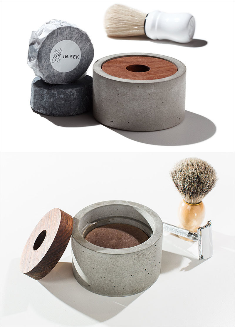 The Ultimate Gift Guide For The Modern Man (40+ Ideas!) // A Concrete Shaving Kit