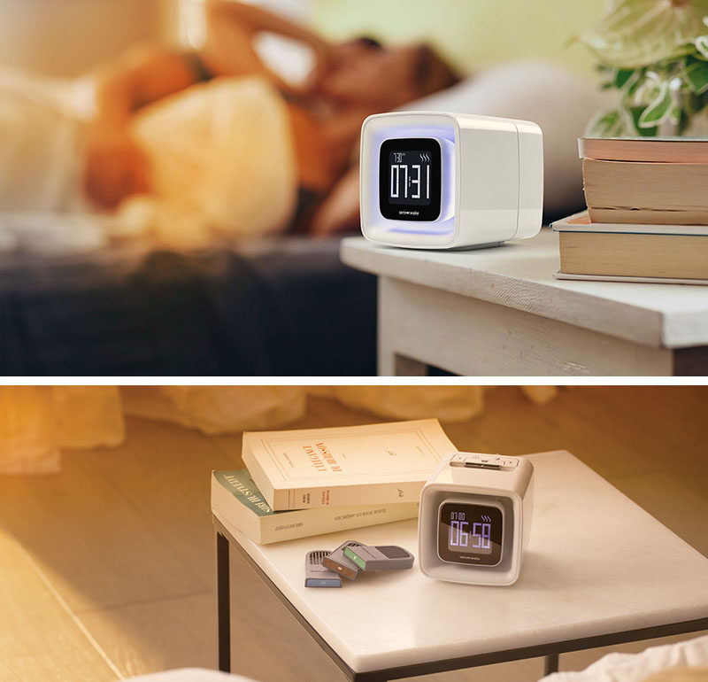 The Ultimate Gift Guide For The Modern Man (40+ Ideas!) // An Alarm Clock That Releases Scents