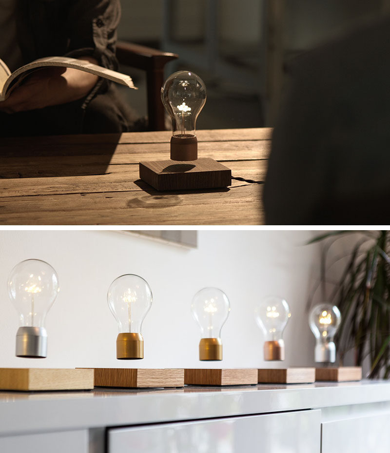 The Ultimate Gift Guide For The Modern Man (40+ Ideas!) // A Levitating Lamp