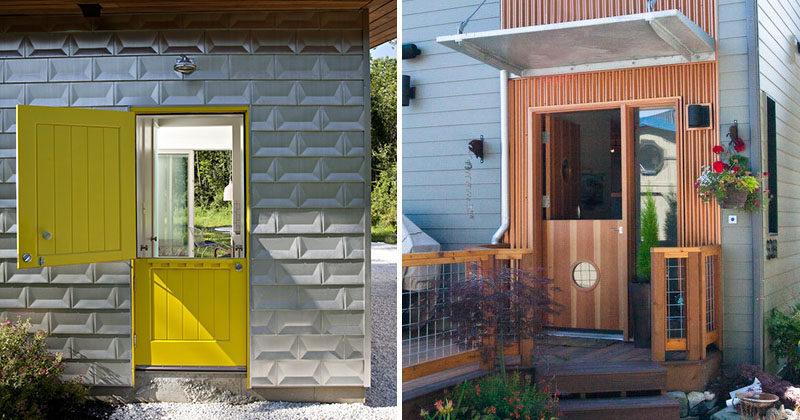 Door Design Ideas - 9 Examples Of Modern Dutch Doors