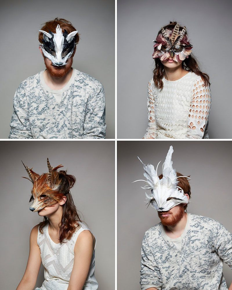 20 Modern & Creative Masks To Get You Ready For Halloween