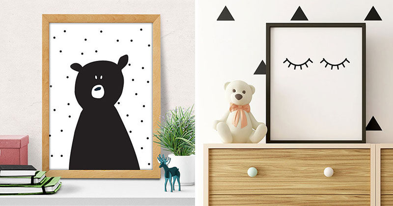 15 Modern Nursery Art Prints To Dress Up Your Child\'s Walls ...