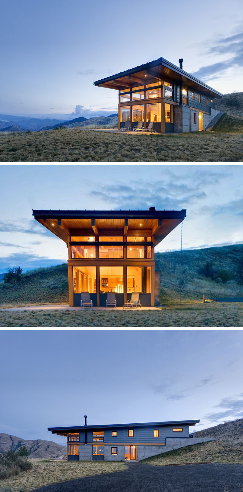 20 awesome examples of pacific northwest architecture Home run architecture
