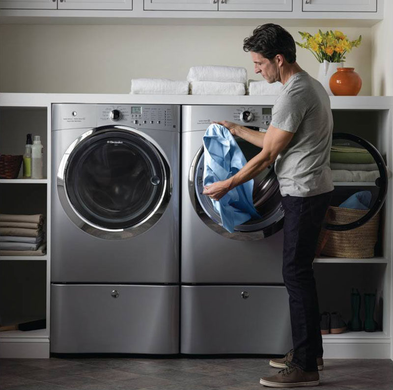 Laundry Room Design Idea Raise Your Washer And Dryer Up