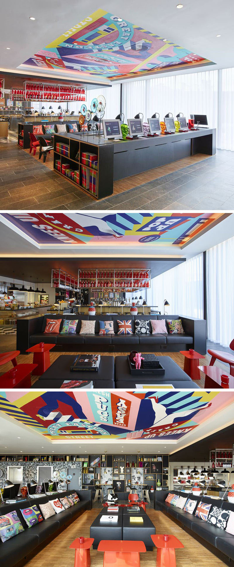 Interior Design Idea - Create A Defined Area By Recessing The Ceiling