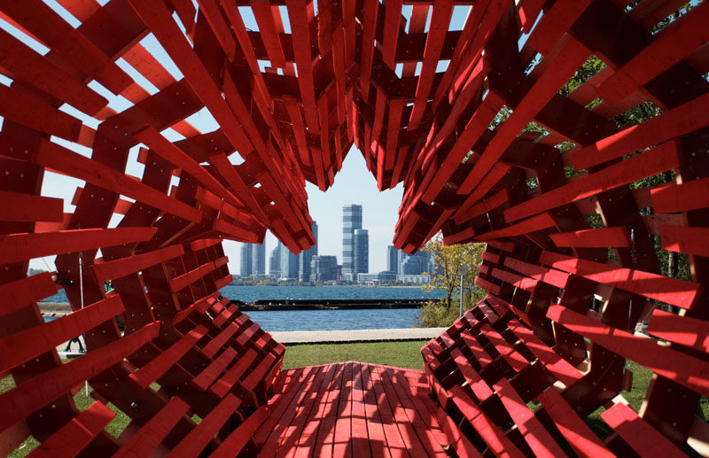 Hungarian Architects Have Created A Sculptural Memorial To Honor Hungarian Refugees And Thank Canadians