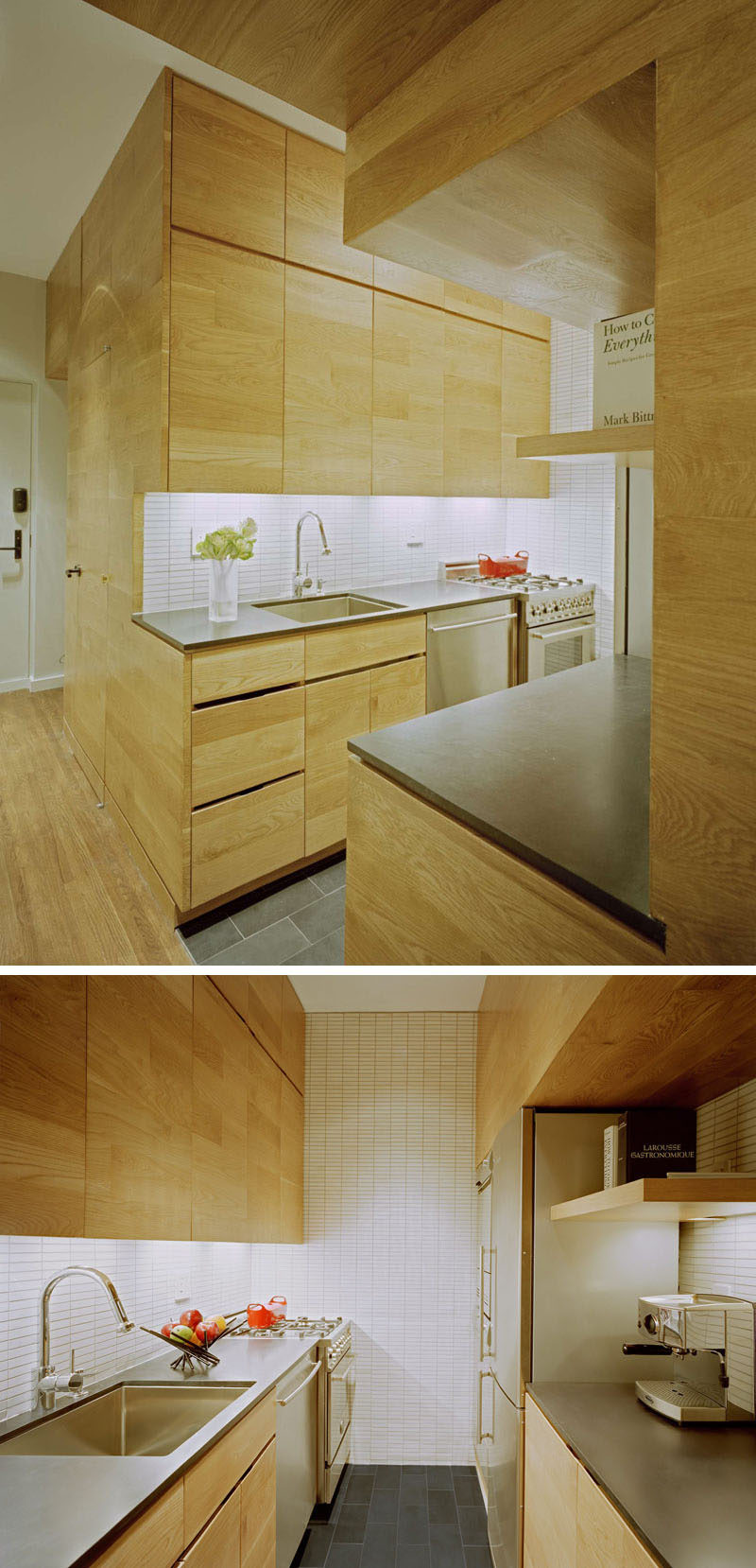 small kitchens 171016 01a 800x1658 - 10+ Kitchen Design For Small Space House  Pictures