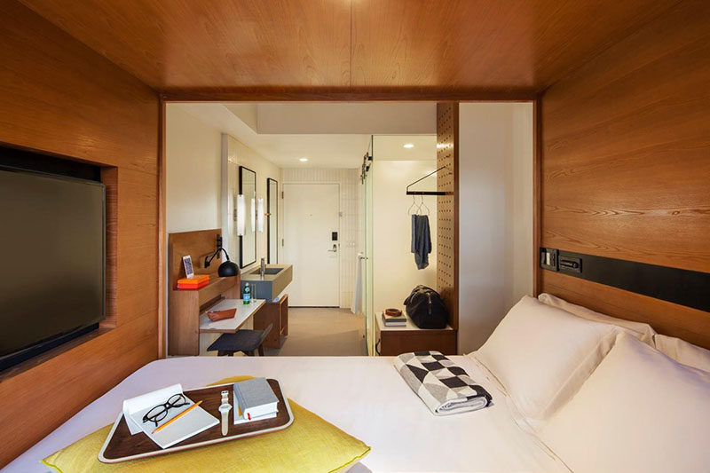 Small Bedroom Design Idea - Build-In Your Bed If You Have A Small Room
