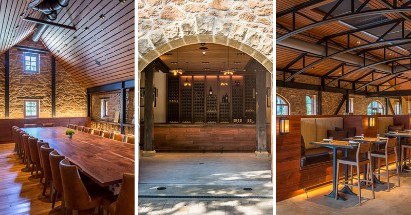 A Renovation Of This Winery Preserved A Century Old Stone