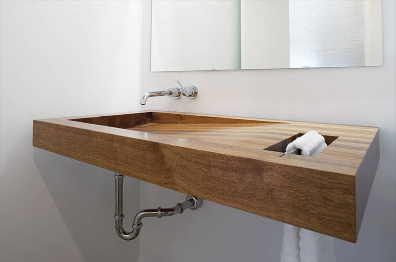 Pedestal sinks for small bathrooms