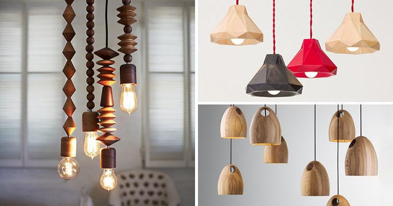 15 Wood Pendant Lights That Add A