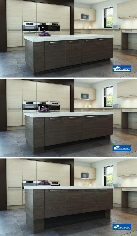 Kitchen Design Idea - Install An Adjustable Height Kitchen Island