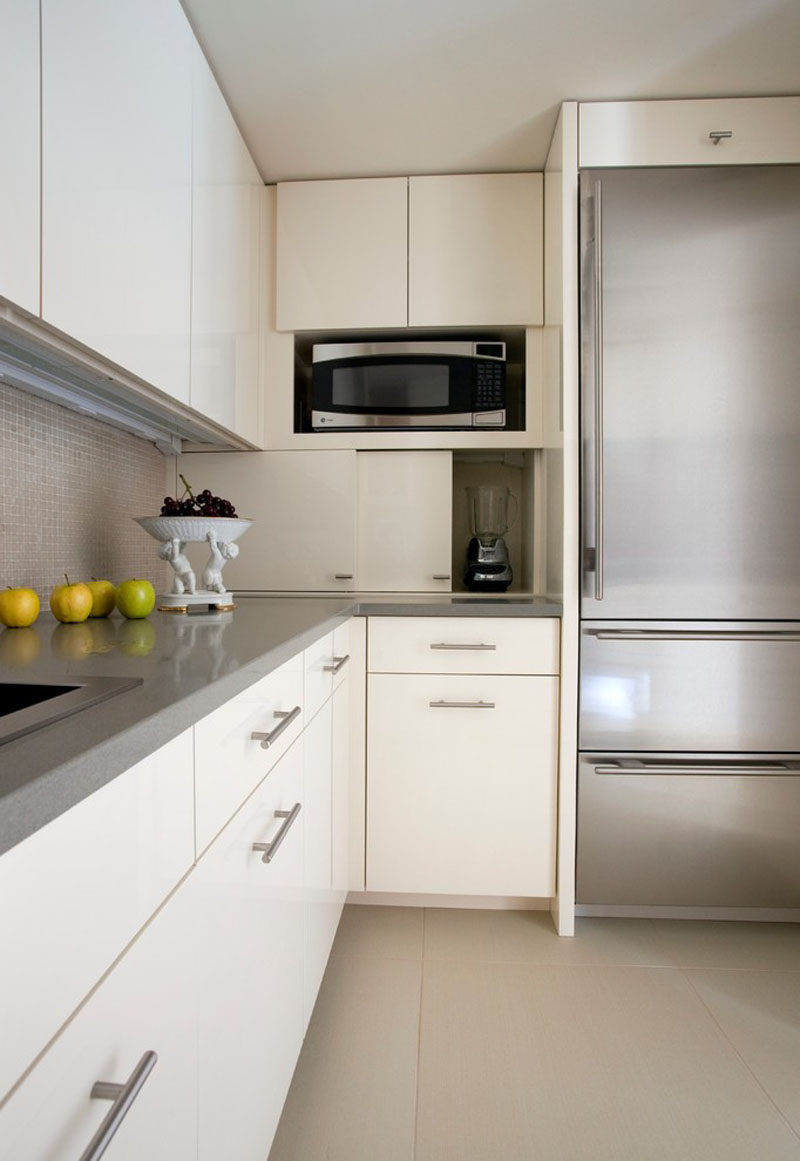 Kitchen Design Idea   Store Your Kitchen Appliances In A Dedicated Appliance  Garage // The