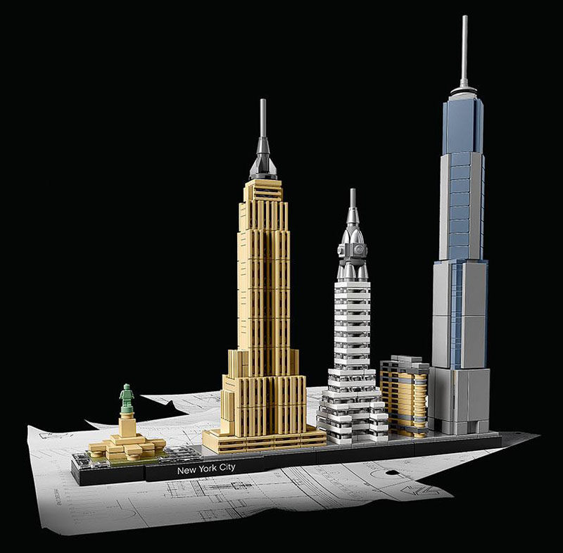 40 Awesome Gift Ideas For Architects And Interior Designers // Architectural Lego Sets
