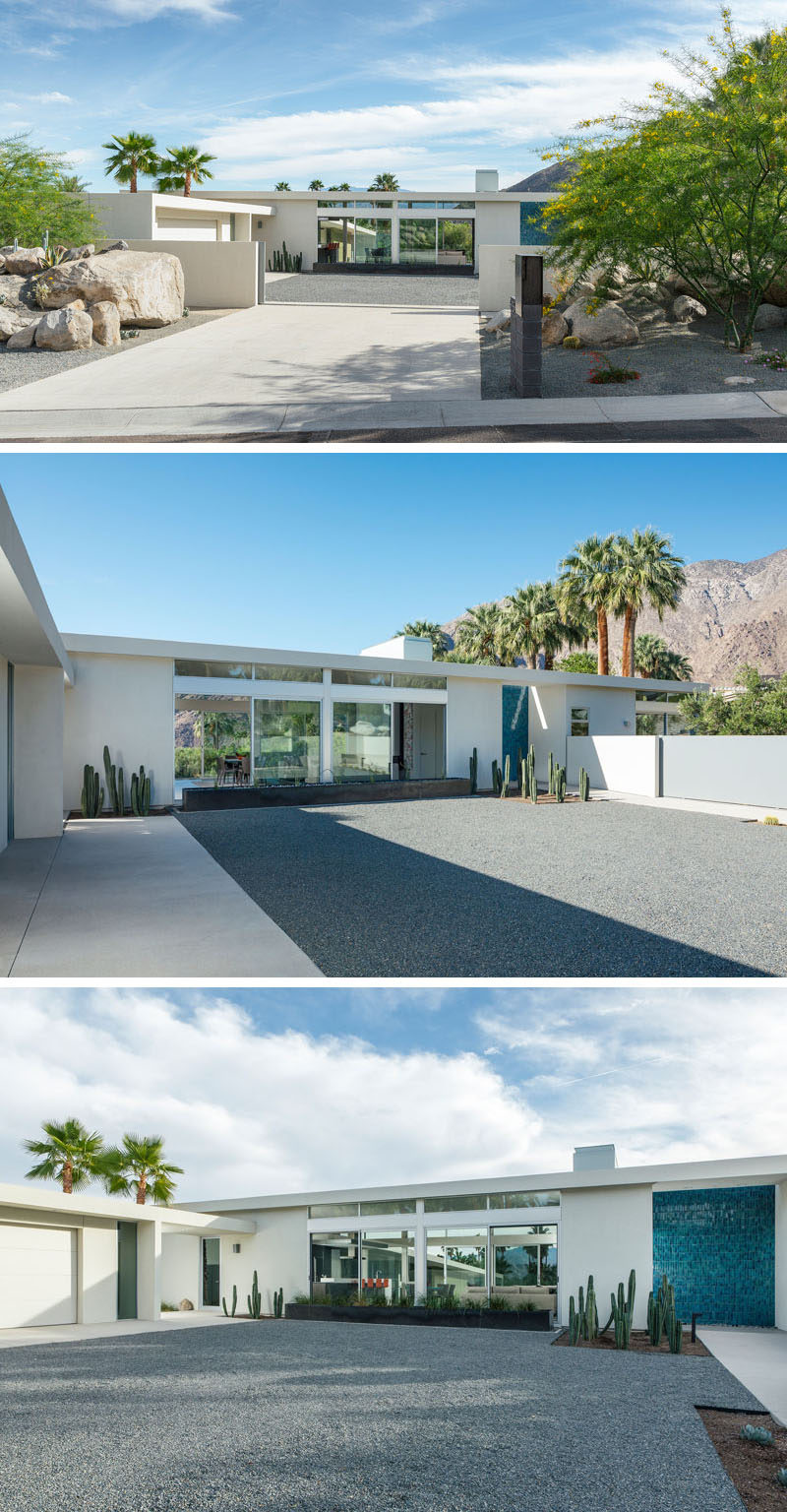 O2 Architecture have designed Las Palmas Heights Residence after being asked by their clients to design a home that would have an open plan living area and be built with durable materials.