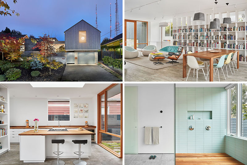 This Light-Filled Seattle Home Was Designed With An Art Studio