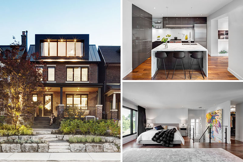 this century old home in toronto was given a contemporary makeover