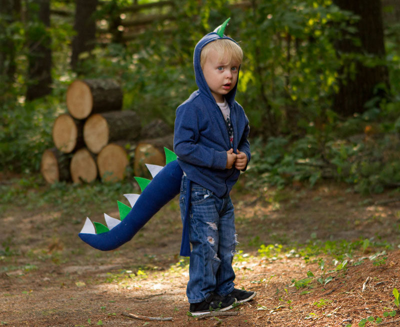 Gift Guide - 30+ Gift Ideas For The Modern Kid In Your Life // Bring back the dinosaurs with a dinosaur outfit that your child can wear all the time.