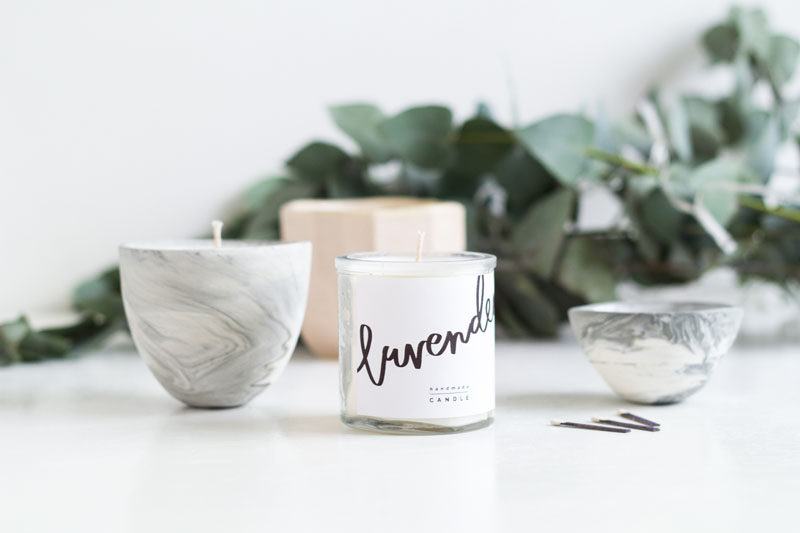 Aromatherapy Ideas - 9 Ways To Make Your Home Smell Amazing // Scented candles or natural beeswax candles create beautiful smells and come in an endless number of scents.