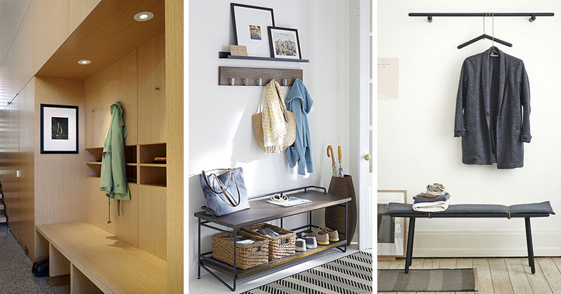 3 Different Styles Of Entryway Benches