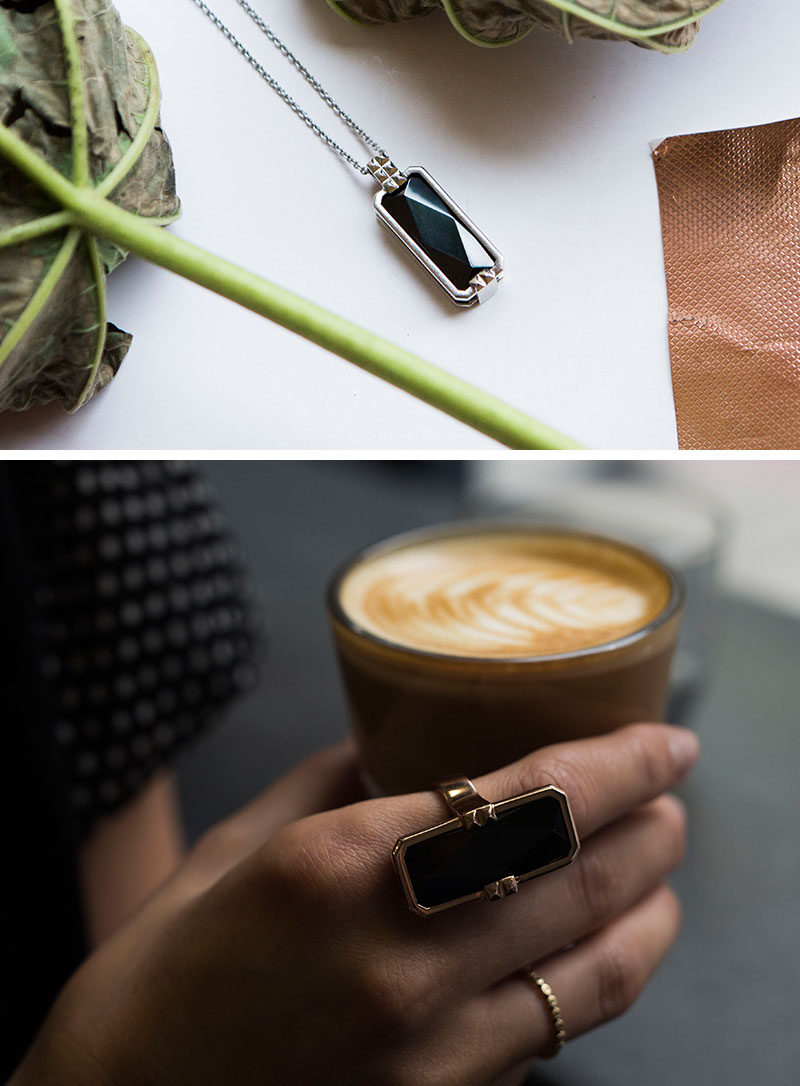 The Ultimate Gift Guide For The Modern Woman (40 Ideas!) // Smart jewelry can be programmed to vibrate when important notifications come in so she doesn't have to worry about missing a call from her mom or an email from her boss and lets her put away her phone and focus on what's going on in the moment. #TechGifts #GiftIdeas