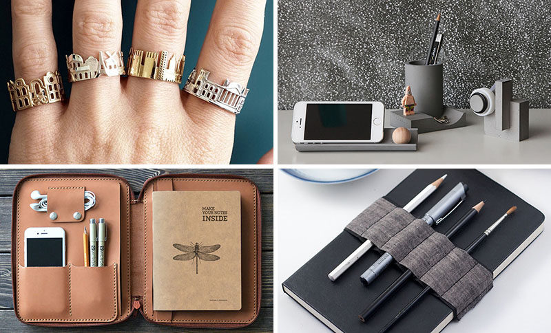 To help you out we've compiled a list gift ideas including tools, books, art, and more, that the architects and designers in your life are sure to love. #GiftIdeas #Architect #InteriorDesigner