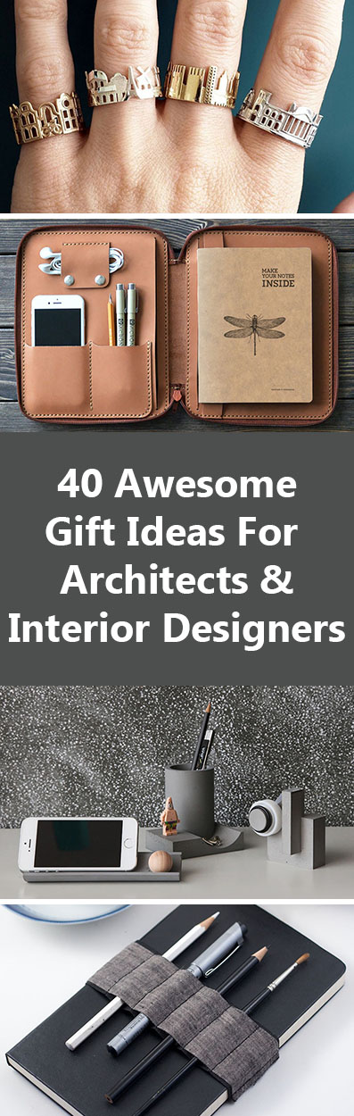 40 gift ideas for architects and interior designers contemporist Architects and interior designers